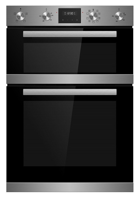 Award 60cm S/Steel 3/8 Function Double Oven - Betta Online Only Price