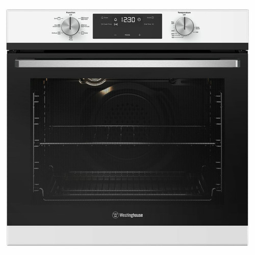Westinghouse 60cm White 7 Function Built-in Oven - Betta Online Only Price