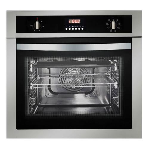 Parmco 60cm S/Steel 8 Function Built-in Oven - Betta Online Only Price
