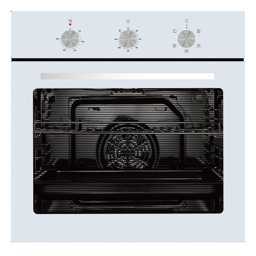 Parmco 60cm White 5 Function Built-in Oven - Betta Online Only Price