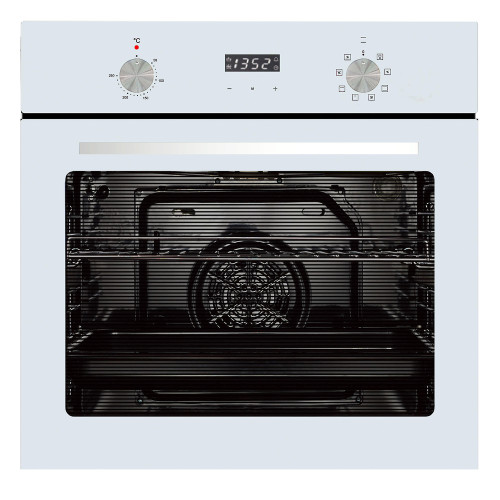 Parmco 60cm White 8 Function Built-in Oven - Betta Online Only Price