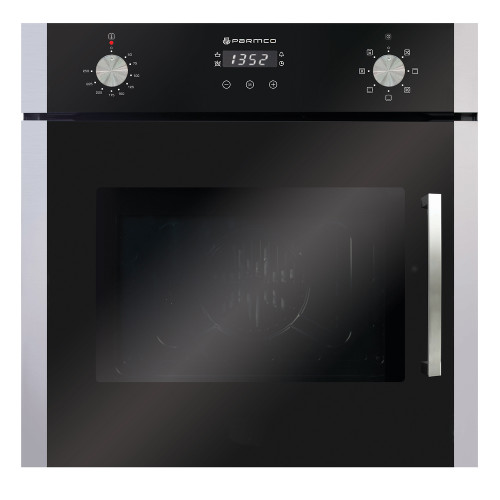 Parmco 60cm S/Steel Side Opening 7 Function Built-in Oven - Betta Online Only Price