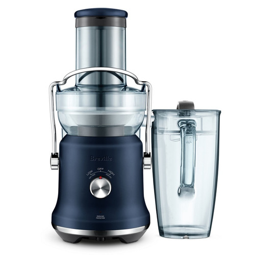 Breville the Juice Fountain® Cold Plus Juicer Damson Blue - Betta Online Only Price