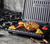 George Foreman Medium Fit Grill lifestyle open chicken