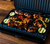 George Foreman Medium Fit Grill lifestyle open mixed