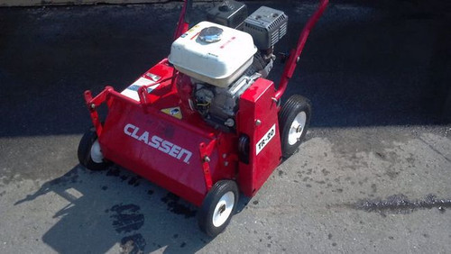 Classen Power Rake Lawn Thatcher Honda Engine