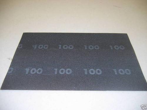 "10 SHEETS CLARKE 100 GRIT 12"" X 18"" SANDPAPER SCREEN"