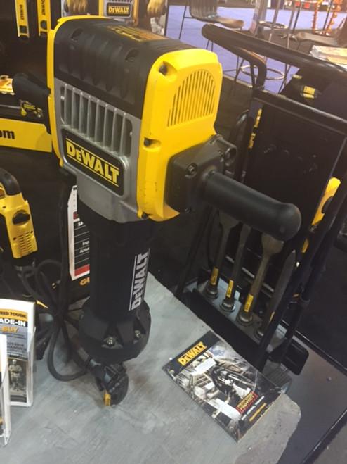 New Open Box DeWALT Heavy-Duty Pavement Breaker w/ Hammer Steel and Truck