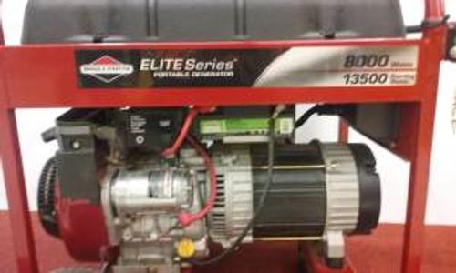 8000 Watt Elite Series Briggs Generator (Lightly Used)