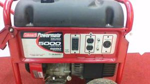 Coleman Powermate 5000W  PM0435003 Heavy Duty Portable Gas Generator
