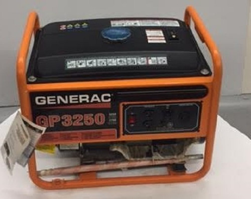 NEW! GENERAC 3250 GP Series Generator,Portable Generac 3250 Watt Gasoline Engine