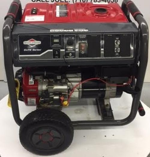 NEW! Briggs & Stratton Gas Generator 8000 Watt Elite Portable Floor Demo Model