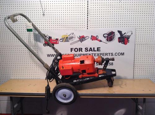 General WireModel 88 Sewer Snake Drain Cleaning Machine Plumbing Electric Power