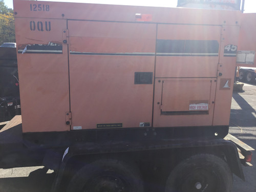 Multiquip DB-05011 Diesel Generator WHISPERWATT 45 KVA (36 KW)