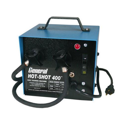 New General Hot Shot 400 Pipe Thawing Machine Frozen Thawer Plumbing Repair Tool