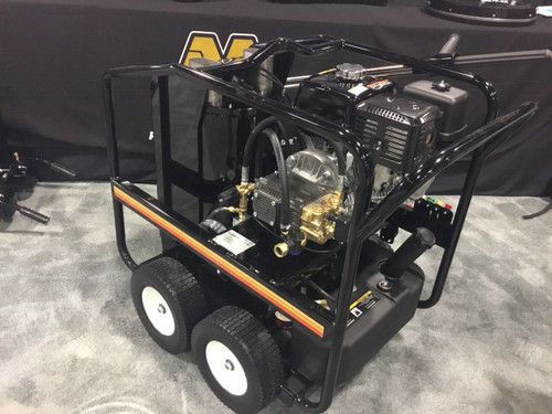 Mi-T-M HSP3504 Hot Water Pressure Washer-3MGH Honda GX390 Engine