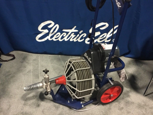 "Electric Eel Z5K-1/2IC75-AF 1/2""x75' Sewer Drain Snake Cleaner Sales Floor Model"