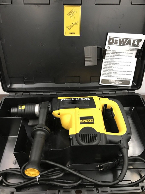 Dewalt D25553K 1-9/16 in. Spline Combination Rotary Hammer Drilling Chipping NEW