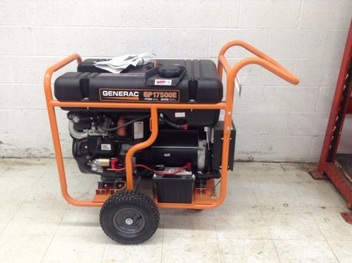 Generac GP17500E Portable Generator Hurricane Emergency Gas Backup Standby Power