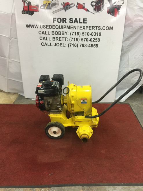 "Used Wacker Neuson PDT2A 2"" Diaphragm Commercial Grade Trash Pump Honda Engine"