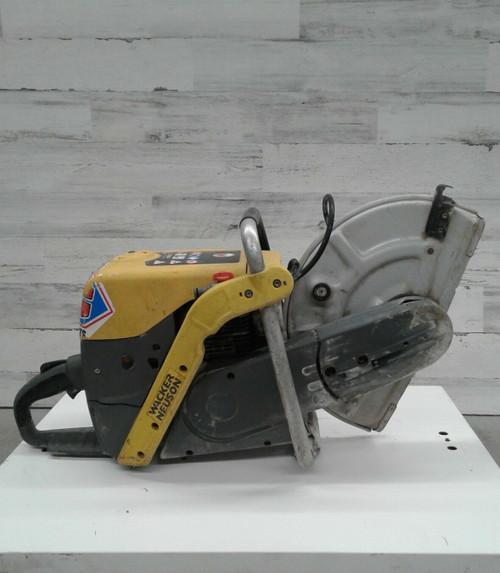 "Used Wacker Neuson Model BTS 635s 14"" Cutoff Saw Concrete Demo Chop Heavy Duty"