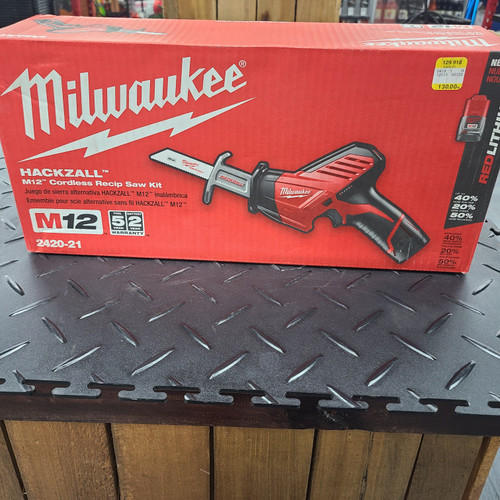 Milwaukee M12™ HACKZALL® Recip Saw Kit