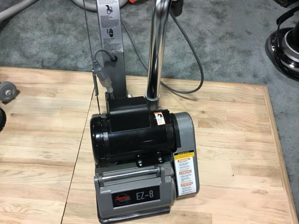 NEW American EZ-8 Expandable New Drum Sander 1 HP Professional Floor Power Finish