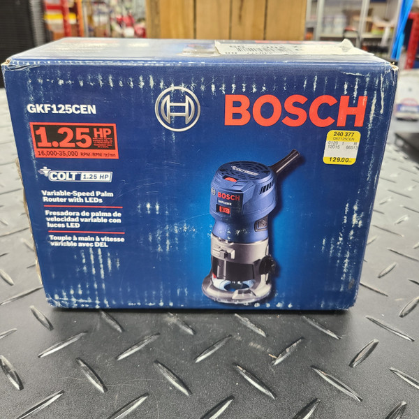 Bosch Colt 1.25 HP (Max) Variable-Speed Palm Router