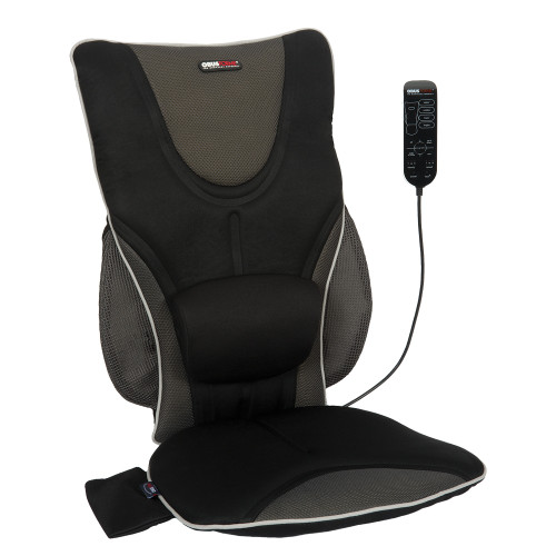Backrest Support Driver's Seat Cushion with Heat and Massage