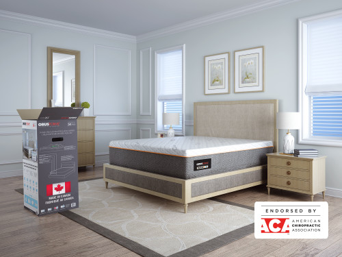 """DualCool 14"""" Bed In a Box Mattress - Bedroom -  ObusForme"""