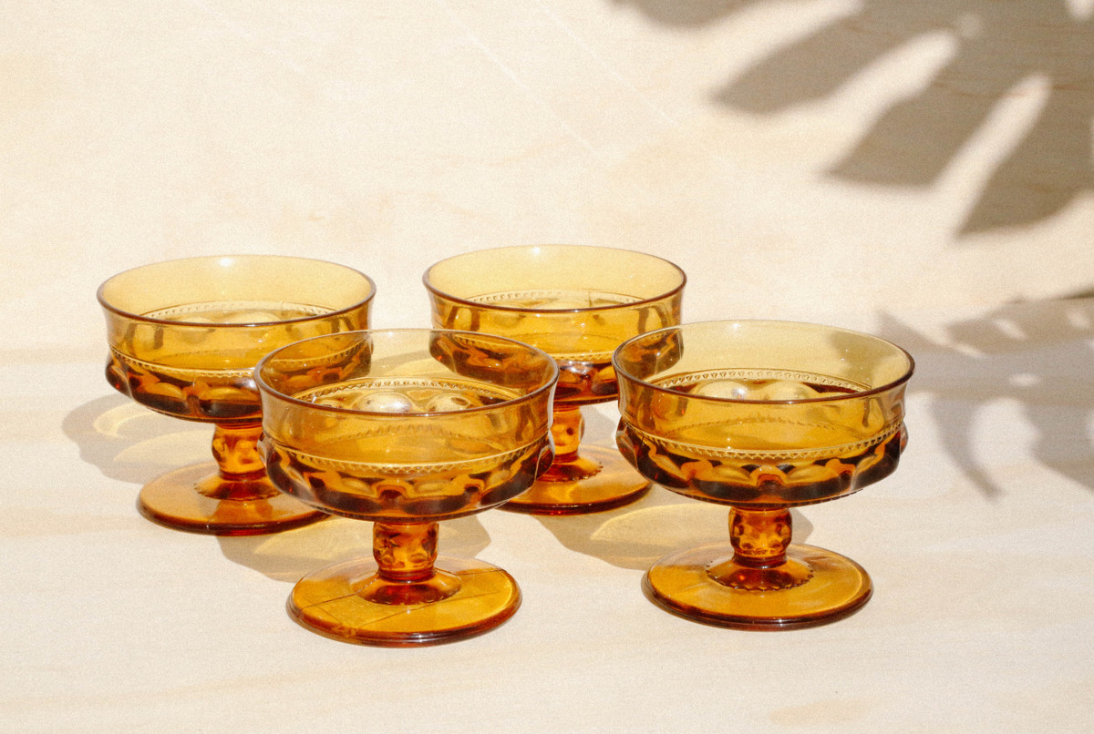 King's Crown Thumbprint Dessert Cups