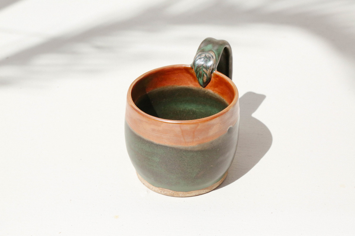 Emerald Coffee Cup