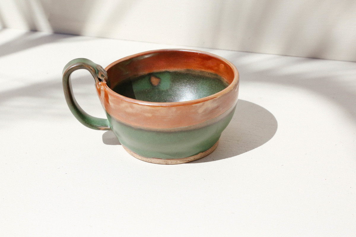 Emerald Wide Coffee Cup