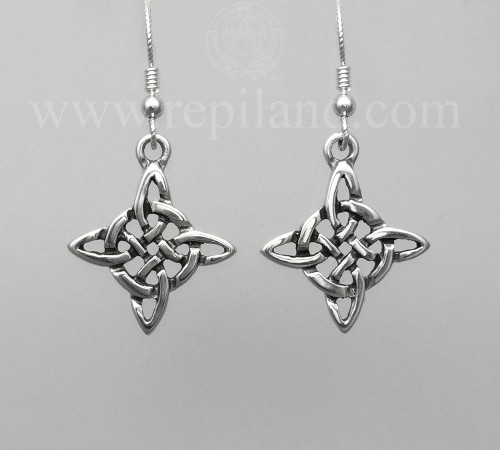 Intricate knotwork in an even cross shape.