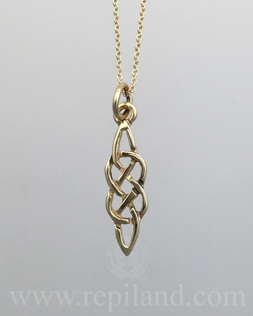 Neamhain Knot Pendant, classic knotwork