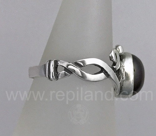 Aoibhnis Gem Ring, sterling