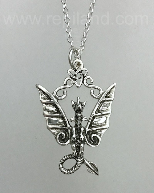 The Fafnir Dragon Pendant.