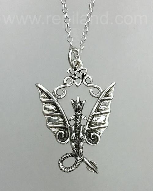 The Fafnir Dragon Pendant.