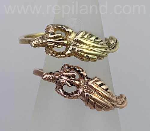 Drakaina Ring, gold