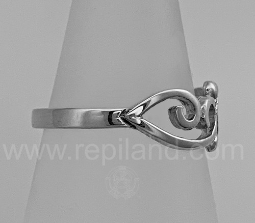 The Merrow Ring, side view.