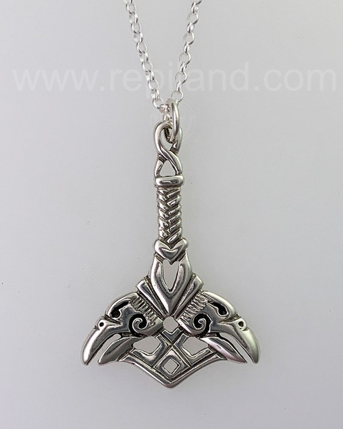 Orkney Hammer Pendant, sterling
