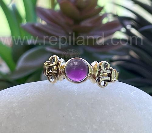 Fenella Gem Ring, gold