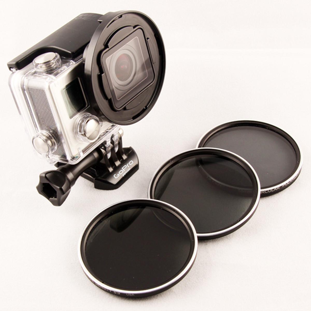 Blurfix Tiffen 55mm filtro Pack
