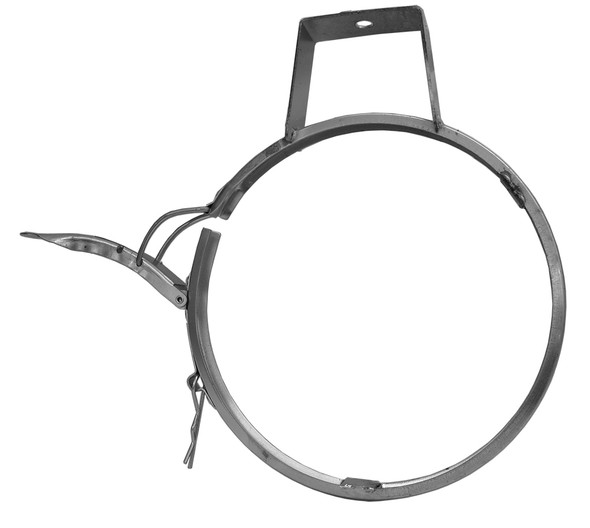 Hanger Clamp Galv 14ga 4in