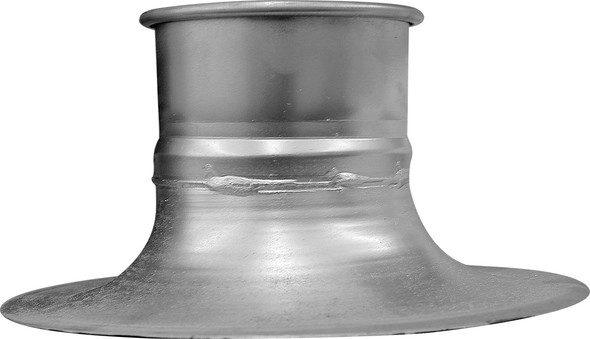 Hood Bell Mouth Galv 20ga 5QF