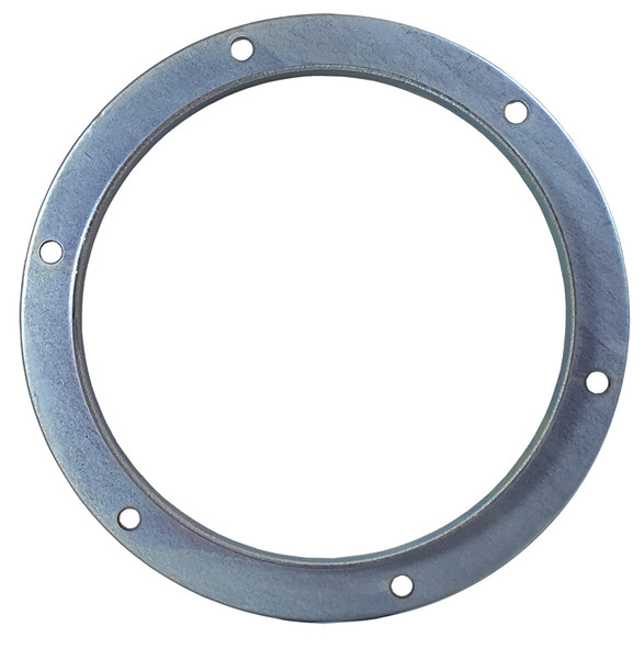 Angle Flange Galv  6in