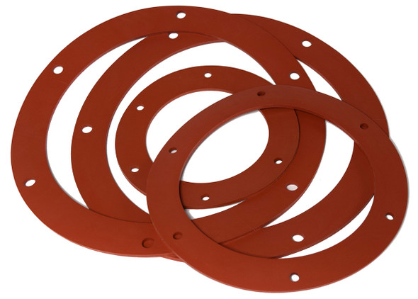 Gasket Angle Flange Silicone  4in