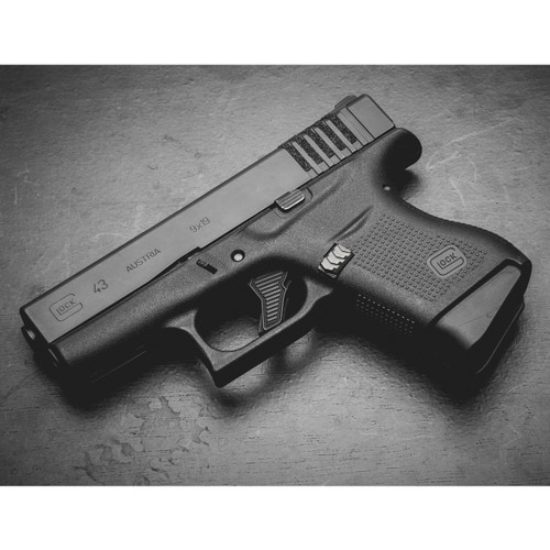 Tyrant Designs Glock 43 Extended Mag Release