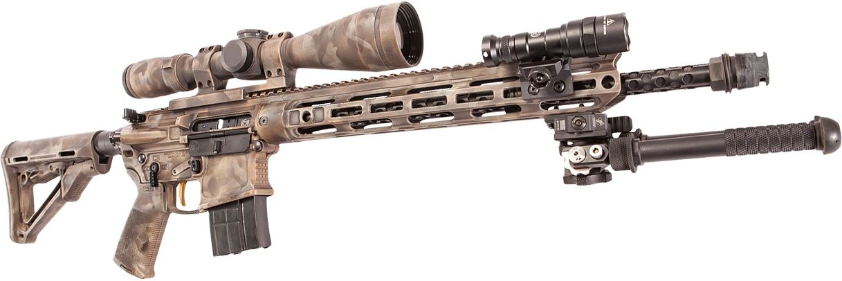 long range built AR-15
