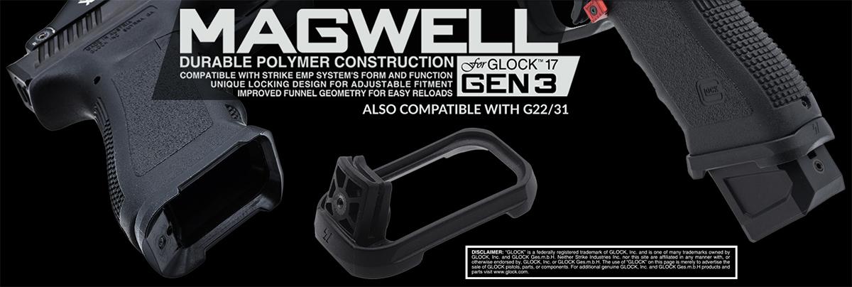 Strike Industries Magwell for Gen 3 Glock 17/22/31/34